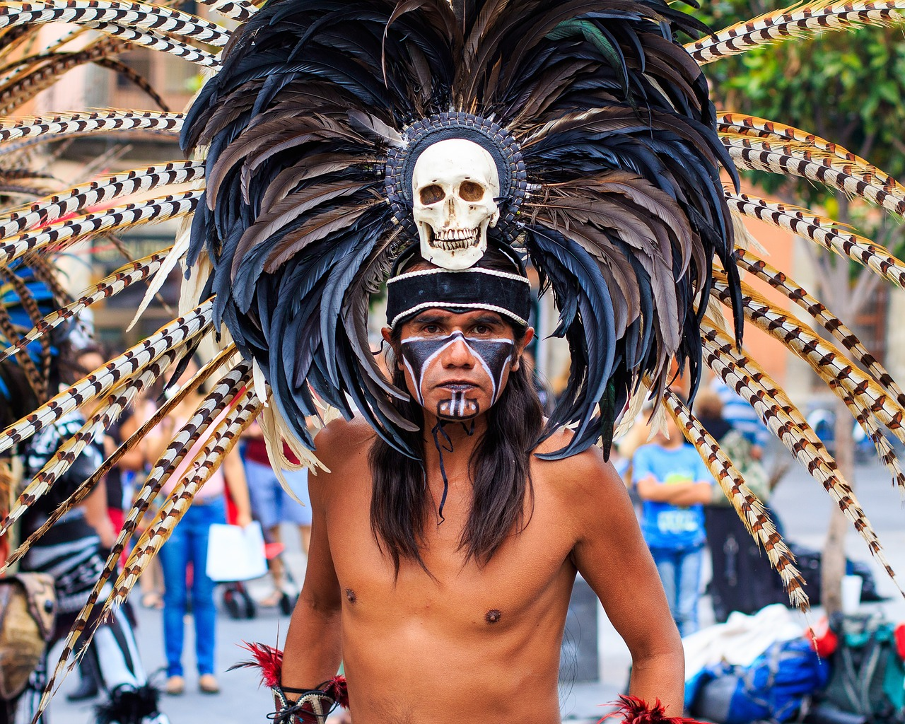 Mexican Warrior And Shaman