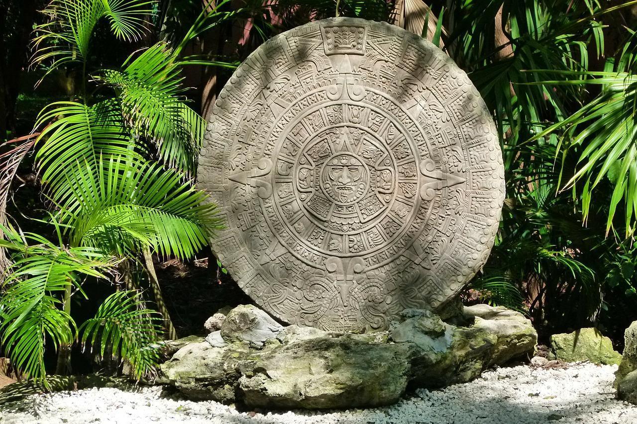 Aztekischer Kalenderstein